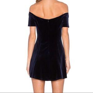 Lovers + Friends Dresses - Lovers + Friends Velvet Dress